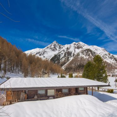 Winter, Bergkristall Hütte in St. Sigmund im Sellrain, Tirol, Tirol, Österreich
