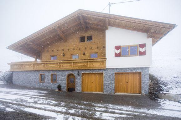Winter, Alpenhoamatl in Ginzling-Mayrhofen, Tirol, Tirol, Österreich