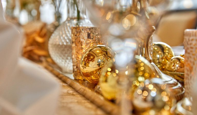 Christmas with a gala dinner