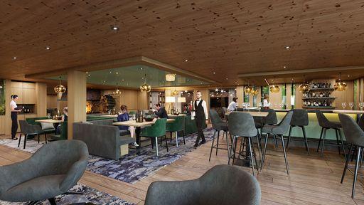 Kommen Sie zur Ruhe bei einem Cappuccino oder einem fruchtigen Cocktail an der Bar.