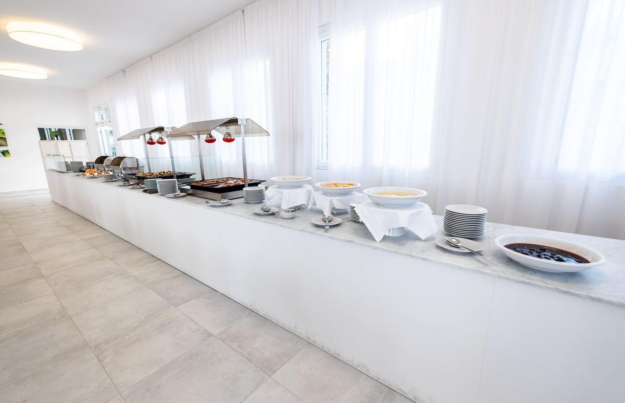 Restaurant des Hotels für Frühstück, Mittag- und Abendessen