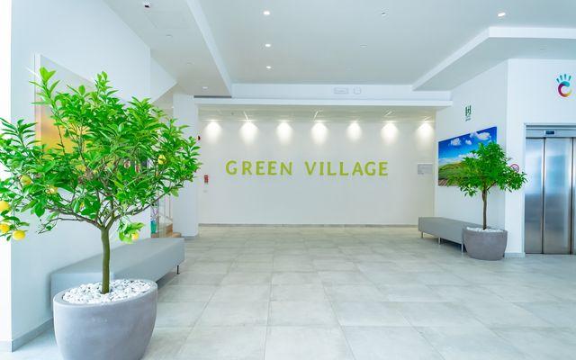 Empfangsbereich Green Village