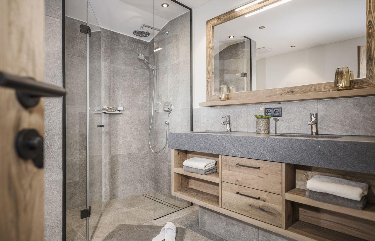 Badezimmer mit Private Spa