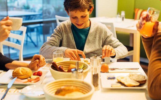 Frühstück im Familienhotel München Moosach