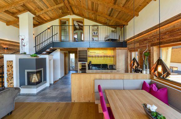 Wohnbereich, Gams Lodge in Goldegg, , Salzburg, Österreich