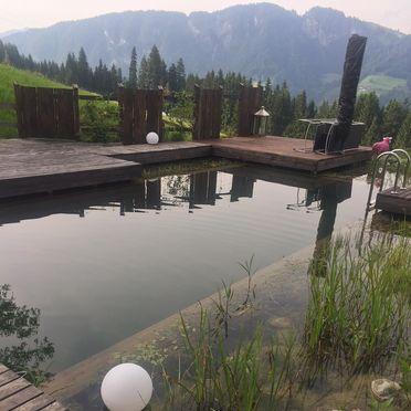 Schwimmteich, HUGS Hütte, Oberau / Wildschönau, Tirol, Tirol, Österreich