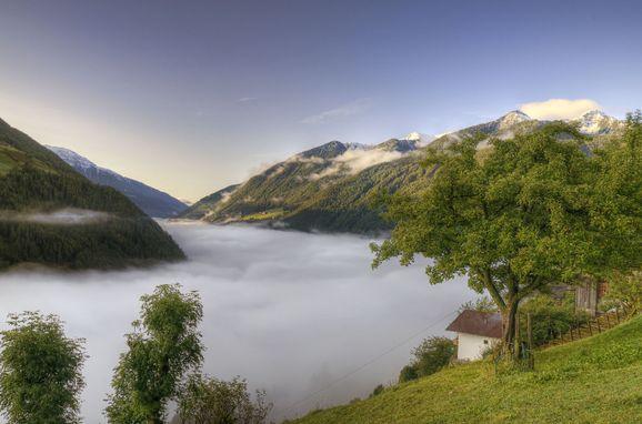 Aussicht, Naturchalet INSToul in St. Johann im Ahrntal, Südtirol, Trentino-Südtirol, Italien