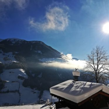 Aussicht Chalet Umgebung, Naturchalet INSToul, St. Johann im Ahrntal, Südtirol, Trentino-Südtirol, Italien
