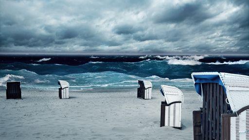 Familotel Strandkind Ostsee Herbst am Meer