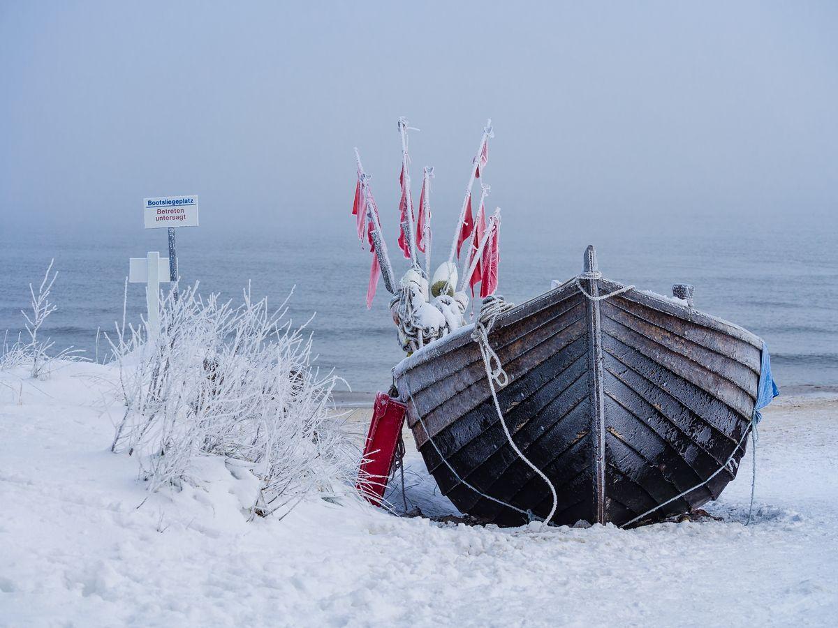 Meerweh im Winter