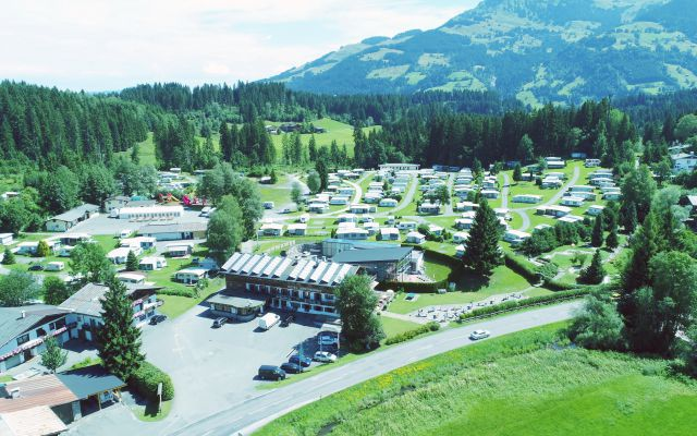 BIO HOTEL Bruggerhof: Campingplatz