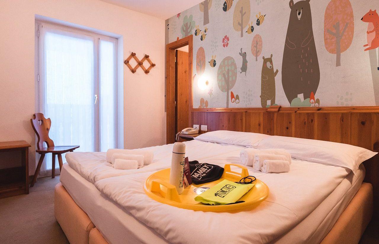 Zimmer des Fabilia Family Hotel Polsa
