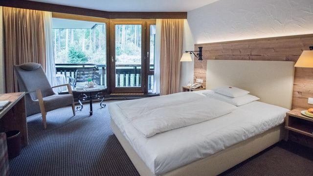Einzelzimmer Komfort Waldseite