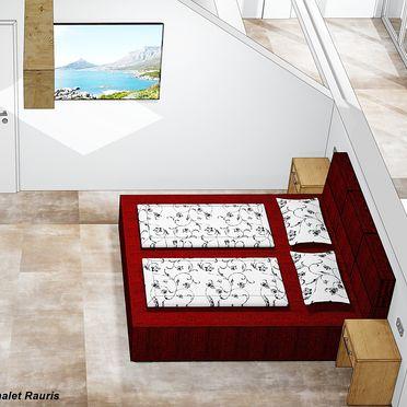 Visualisierungsbild - Schlafzimmer OG, Chalet Alteck in Rauris, , Salzburg, Österreich