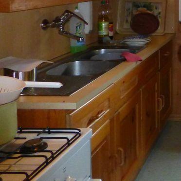 Küche, Arnitzalm in Matrei in Osttirol, Tirol, Tirol, Österreich