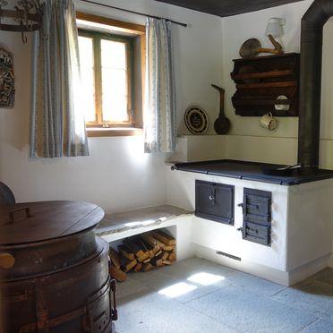 Holzofenherd, Lacknerbrunn ASTL-Alm, Mayrhofen, Tirol, Tirol, Österreich