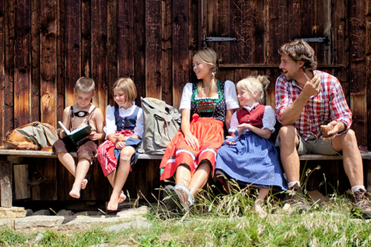 FAMILIEN - Urlaubsglück in den Bergen