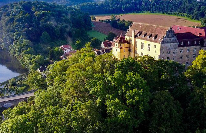 Biohotel Schloss Kirchberg - Kirchberg an der Jagst, Baden-Württemberg, Deutschland