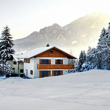 Outside Winter 22, Ferienchalet Schwänli in Oberammergau, Oberammergau, Oberbayern, Bavaria, Germany