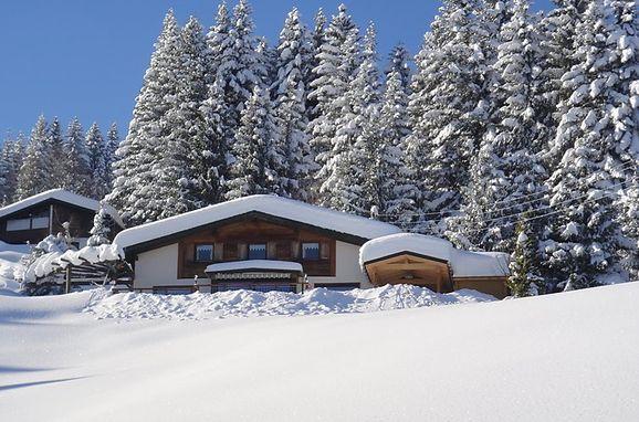 """Außen Winter 39 - Hauptbild, Chalet """"The Schatzie"""", Egg, Vorarlberg, Vorarlberg, Österreich"""