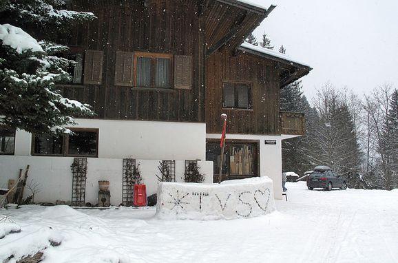 Außen Winter 1 - Hauptbild, Chalet Wühre im Silbertal, Silbertal, Montafon, Vorarlberg, Österreich