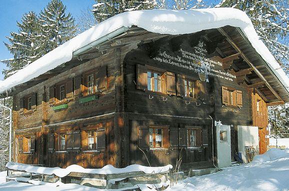 Außen Winter 17 - Hauptbild, Chalet Mesa im Montafon, Tschagguns, Montafon, Vorarlberg, Österreich
