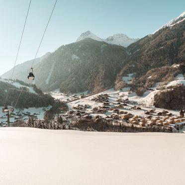 Außen Winter 30, Chalet Montafonblick, Sankt Gallenkirch, Montafon, Vorarlberg, Österreich