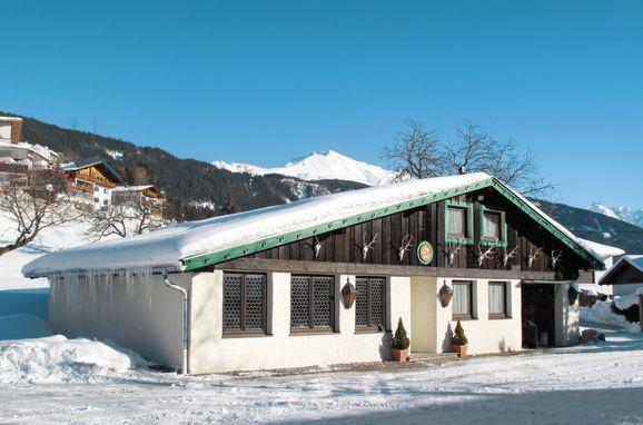 Außen Winter 27 - Hauptbild, Jagdhütte Biedenegg im Oberinntal, Fliess/Landeck/Tirol West, Oberinntal, Tirol, Österreich