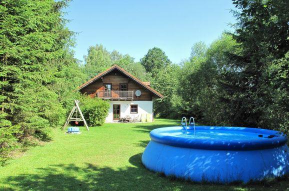 Außen Sommer 1 - Hauptbild, Ferienhütte Ilztal im Bayerischen Wald, Allmunzen, Bayerischer Wald, Bayern, Deutschland