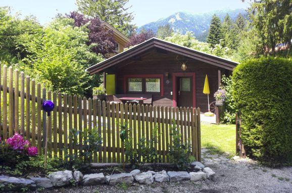 Innen Sommer 1, Ferienhütte Franke in Garmisch-Partenkirchen, Garmisch-Partenkirchen, Oberbayern, Bayern, Deutschland