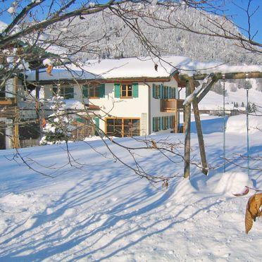 Außen Winter 22, Chalet Maiergschwendt in Ruhpolding, Ruhpolding, Oberbayern, Bayern, Deutschland