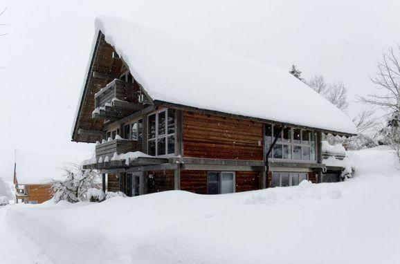 Außen Winter 23 - Hauptbild, Chalet Christine in Oberbayern, Siegsdorf, Oberbayern, Bayern, Deutschland