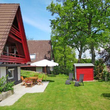 Innen Sommer 2, Ferienhütte Svea am Bodensee, Illmensee, Bodensee, Baden-Württemberg, Deutschland