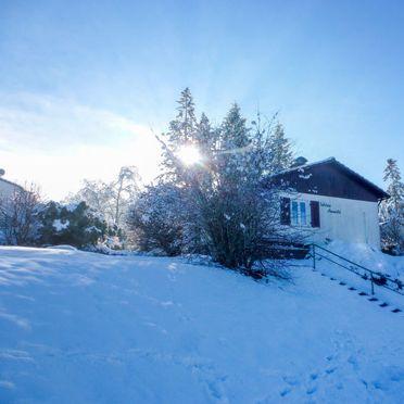 """Außen Winter 16, Chalet """"Schöne Aussicht"""" im Schwarzwald, Dittishausen, Schwarzwald, Baden-Württemberg, Deutschland"""