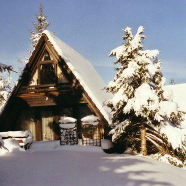Außen Winter 17, Ferienhütte Tennenbronn im Schwarzwald, Tennenbronn, Schwarzwald, Baden-Württemberg, Deutschland