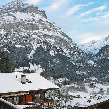 Außen Winter 34, Familienchalet Ahornen, Grindelwald, Berner Oberland, Bern, Schweiz