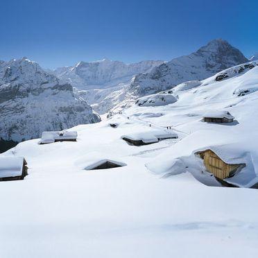 Innen Winter 35, Familienchalet Ahornen, Grindelwald, Berner Oberland, Bern, Schweiz