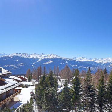 Außen Winter 66, Luxuschalet Chanson im Wallis, Crans-Montana, Wallis, Wallis, Schweiz
