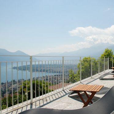 Innen Sommer 2 - Hauptbild, Luxus-Rustico Vernice Gialla im Tessin, Minusio, Tessin, Tessin, Schweiz