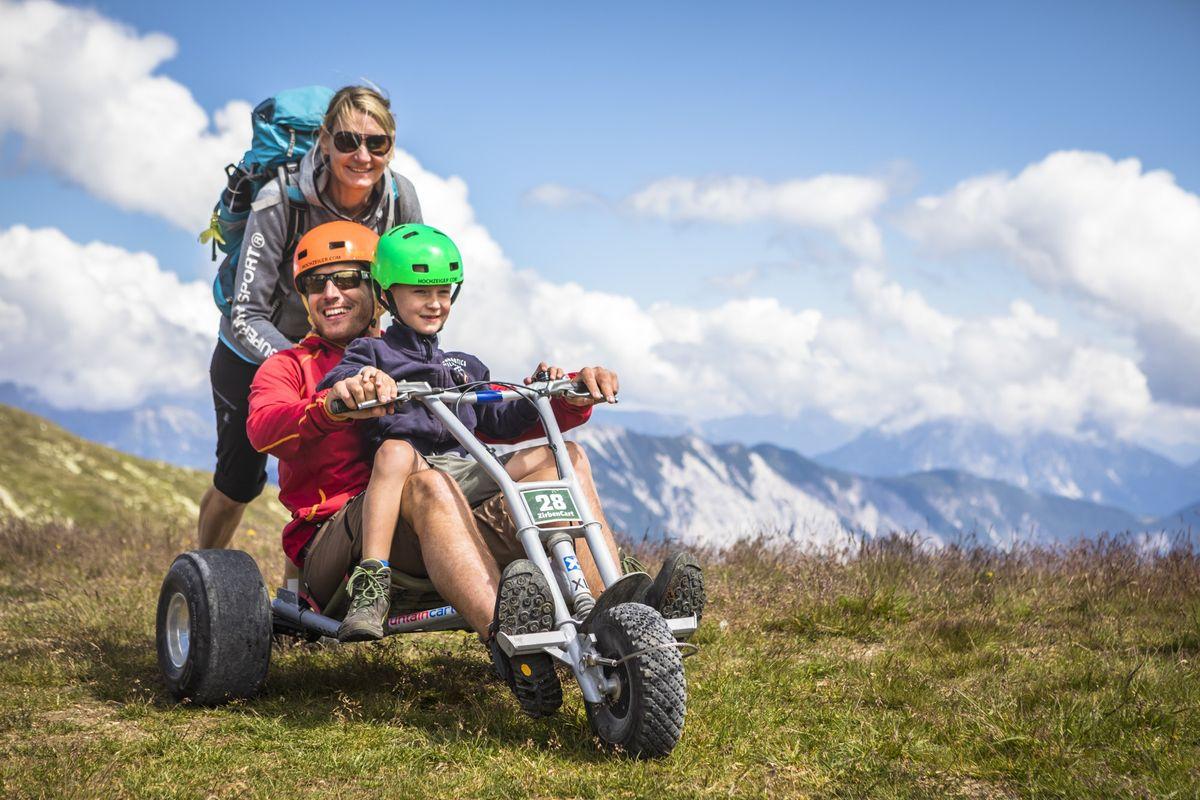 Wandern, Wasserspaß und Downhill Action