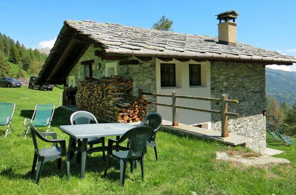 Außen Sommer 1 - Hauptbild, Chalet Casot Brusa, Sampeyre, Piemonte-Langhe & Monferrato, Piemont, Italien