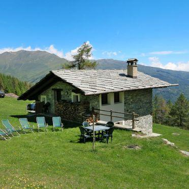 Außen Sommer 4, Chalet Casot Brusa, Sampeyre, Piemonte-Langhe & Monferrato, Piemont, Italien