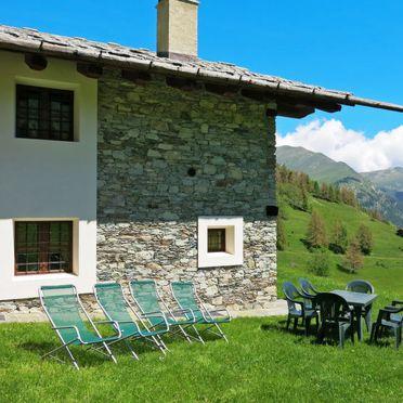 Außen Sommer 2, Casa pra la Funt, Sampeyre, Piemonte-Langhe & Monferrato, Piemont, Italien