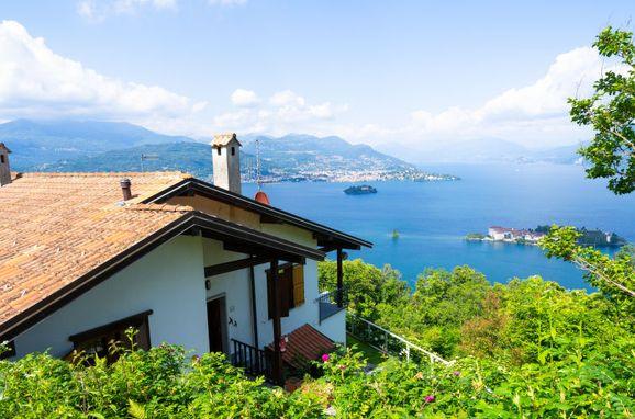 Außen Sommer 1 - Hauptbild, Chalet Ca' delle Isole, Stresa, Lago Maggiore, Piemont, Italien