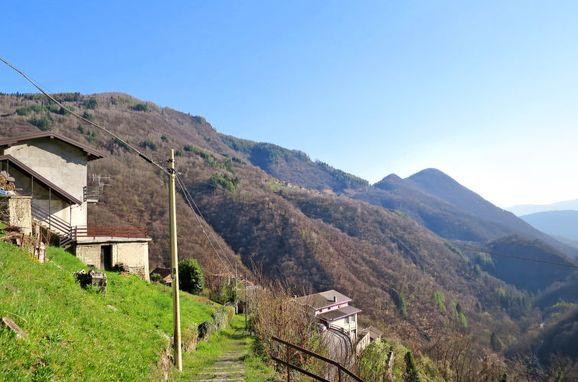 Außen Sommer 1 - Hauptbild, Rustico Ginevra, Aurano, Lago Maggiore, Piemont, Italien