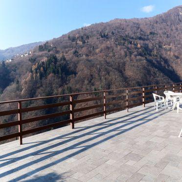 Außen Sommer 5, Rustico Ginevra, Aurano, Lago Maggiore, Piemont, Italien