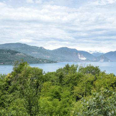 Außen Sommer 2, Rustico nel Bosco, Leggiuno, Lago Maggiore, Lombardei, Italien