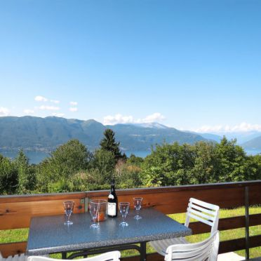 Innen Sommer 2, Chalet Gallina, Castelveccana, Lago Maggiore, Lombardei, Italien