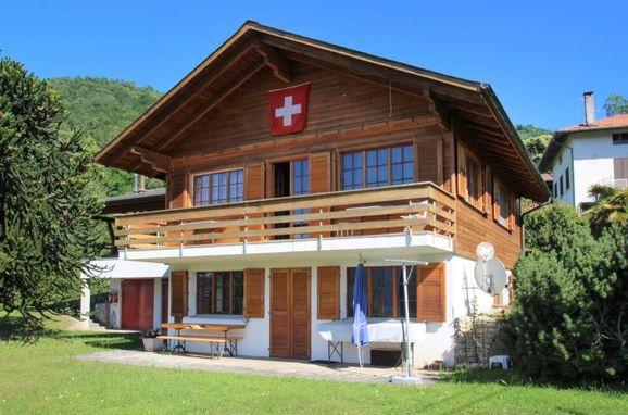 Außen Sommer 1 - Hauptbild, Chalet Gallina, Castelveccana, Lago Maggiore, Lombardei, Italien