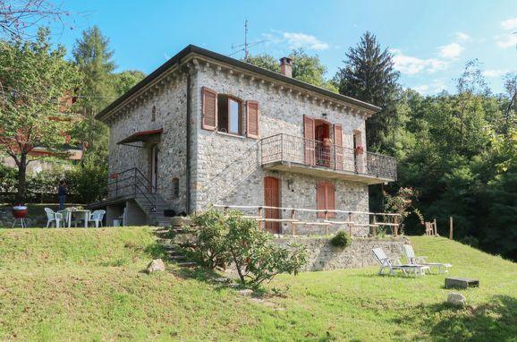 Außen Sommer 1 - Hauptbild, Rustico di Elsa, Brezzo di Bedero, Lago Maggiore, Lombardei, Italien